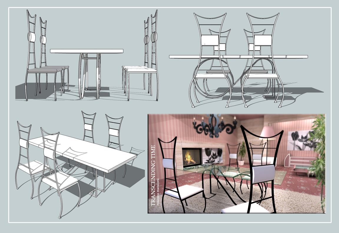 chair design sketchup cane seat chairs 3d model home living furniture