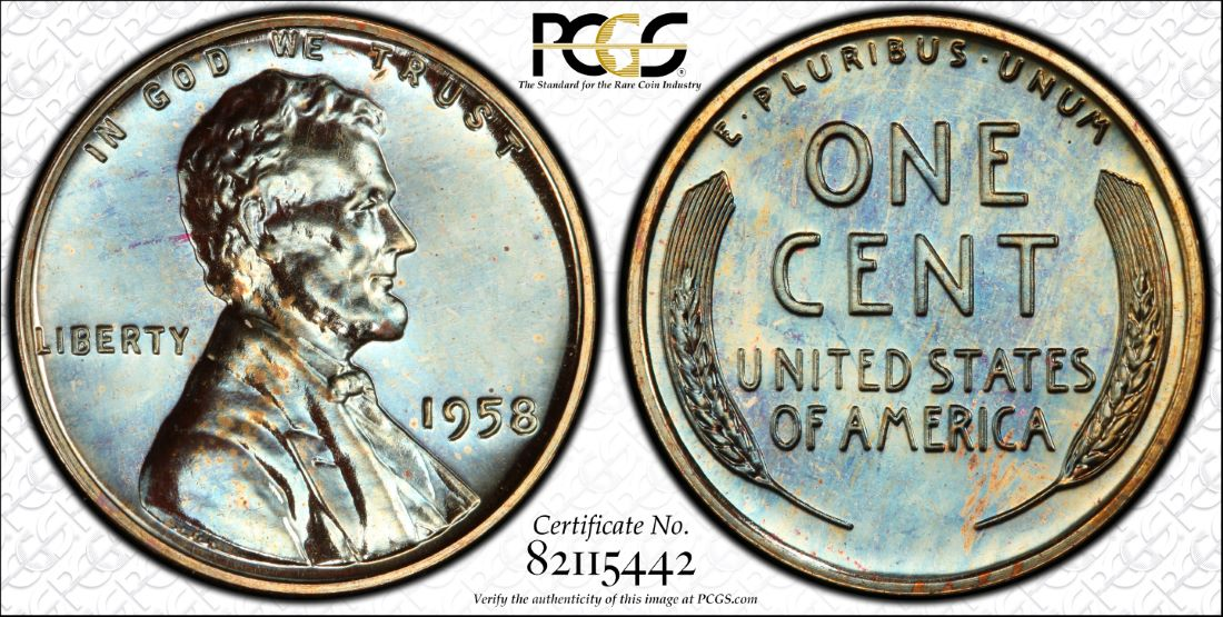 1964 Lincoln With Pipe Cent Counterstamp Keepsake Collector Penny Coin