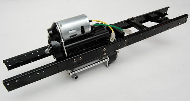 Tamiya High Lift chassis and transmission