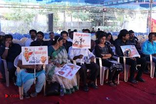 Tamil Film Industry Jallikattu Support Protest of Jallikattu  0080.jpg