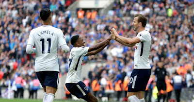 Highlight Tottenham 5-4 Leicester, 13 Mei 2018