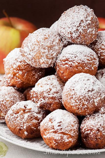 Pączki jabłkowe bez drożdży