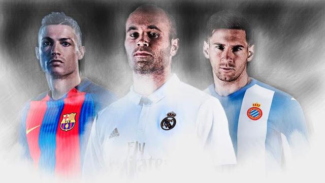 Iniesta, Cristiano Ronaldo y Messi estuvieron cerca de pertenecer a otros clubes
