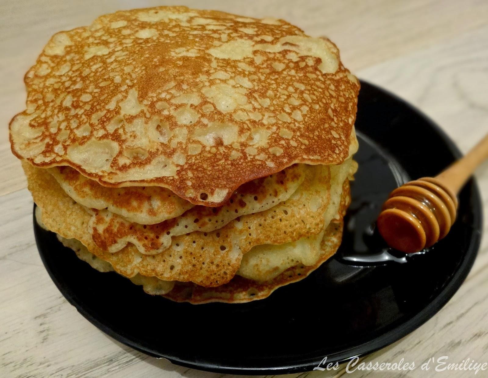 Pancakes à la farine de riz