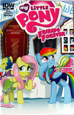MLP Friends Forever comic #18 main cover
