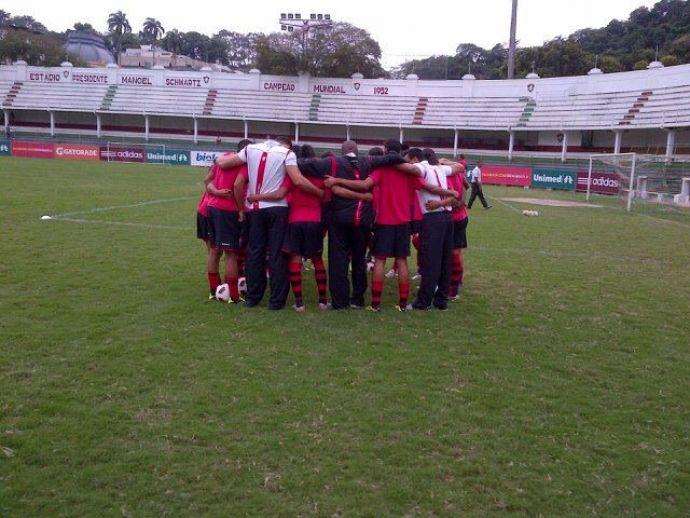 Flamengo empata com o Flu no primeiro jogo da final da OPG 4c967ee5cbc02