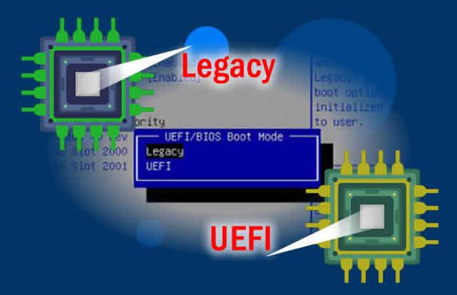 Apa bedanya BIOS Legacy dan UEFI ? - BuatkuIngat