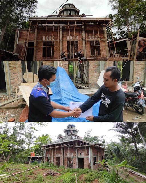 Penyaluran Donasi Pembangunan Masjid Al-Ikhlas Tahap #3