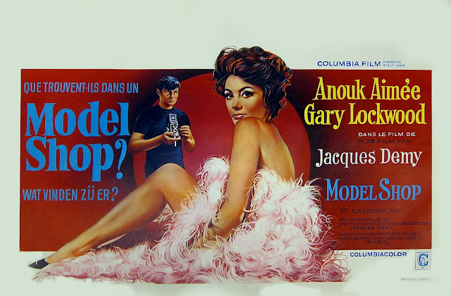 Model Shop Film Poster Jacques Demy 1969