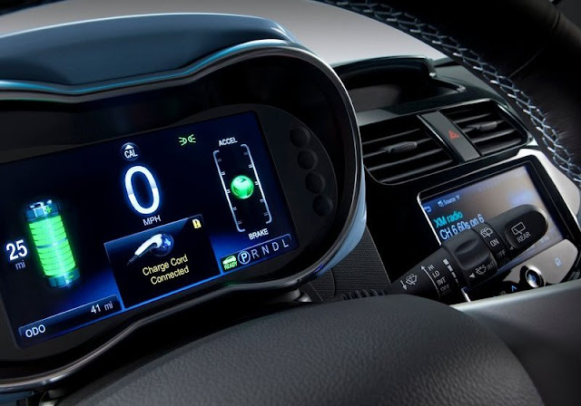 Spark EV Interior