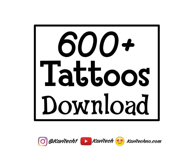 600+ Tattoos png zip file download - KaviTechno