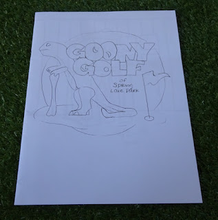 A coloring book from Goony Golf