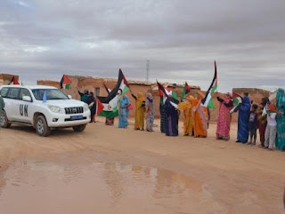 Christopher Ross in flood-hit Sahrawi camps to measure extent of damage