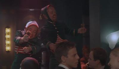 Ally McBeal Saving Santa