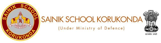 Sainik School Korukonda Admission Form sainikschoolkorukonda.org