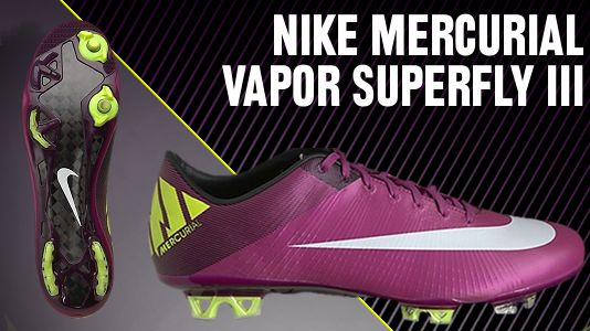 46563bb66 ... And the combination of the first color chosen by Nike for Mercurial  Superfly III is the .