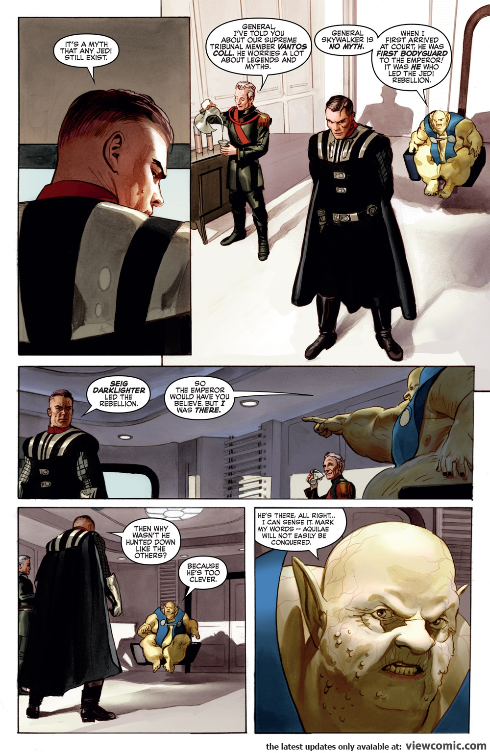 The Star Wars 001 ………………………………  | Reading Comics Online For Free