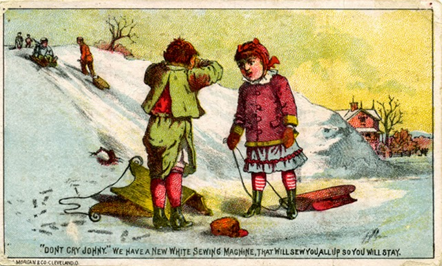 A Collection of 17 Cute and Funny Vintage Christmas Cards ~ vintage ...