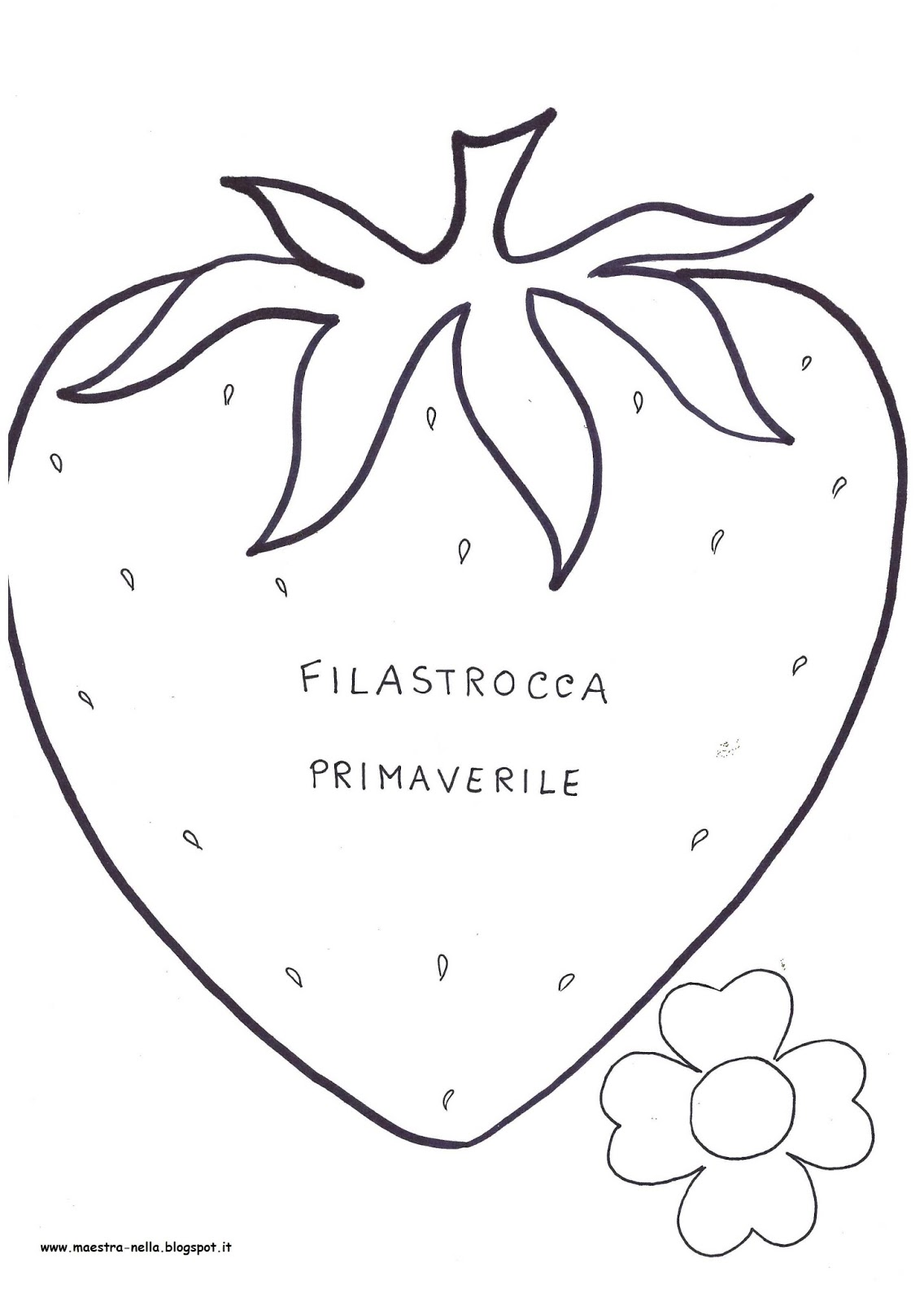 libretto ' filastrocca primaverile'