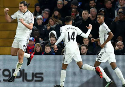 Crystal Palace 1 – 2 Manchester United [Premier League] Highlights 2016/17