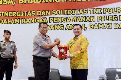 Apresiasi Apel Akbar Tiga Pilar, Ridho Ficardo Imbau TNI, Polri, dan Aparat Desa Tidak Apatis pada Politik