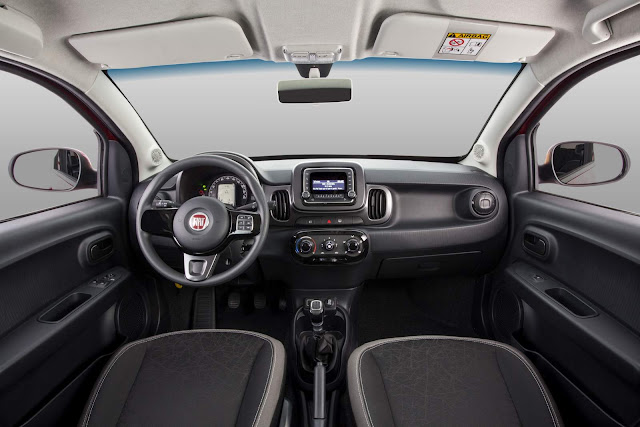 Fiat Mobi 1.0 - consumo