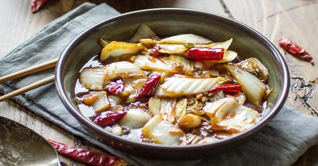 Spicy Sichuan Cabbage Recipe