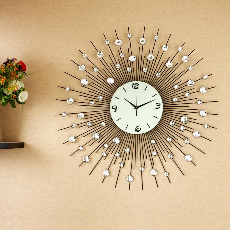epoxy flooring kitchen double sink handmade wall clock design ideas - dwell of decor