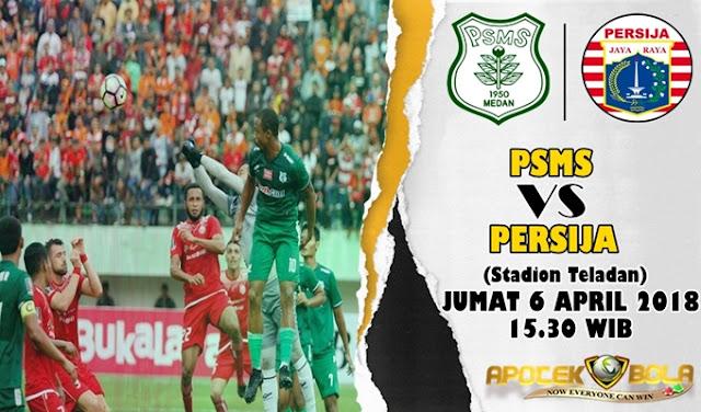 Prediksi PSMS vs Persija 6 April 2018