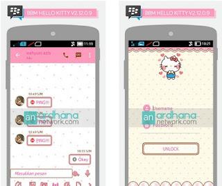 BBM MOD Terbaru : BBM Hello Kitty 2.12.0.9 APK