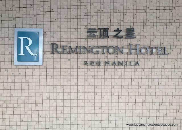 Remington Hotel in Resorts World Manila