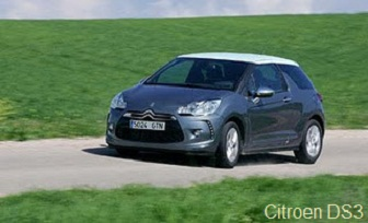 Citroen DS3 test drive