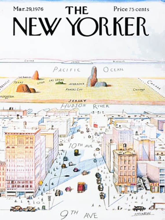 The New Yorker may 1976 cover