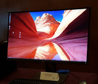 The Dell UltraSharp 30 Ultra HD 4K OLED monitor is Dell's first OLED display.