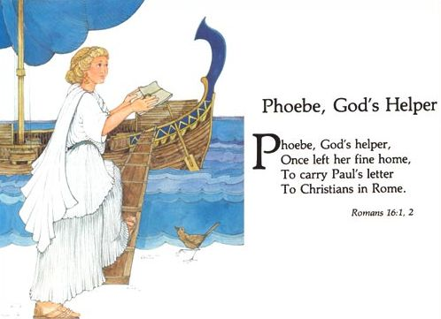 Phoebe - one of the Mighty Christian Women in the Bible (Romans 16:1-2)