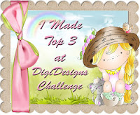 DigiDesigns top3 for Peppermint's in a Bottle card