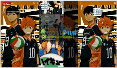 Download BBM Mod Anime Haikyuu v3.1.0.13 Multiapk Terbaru 2016