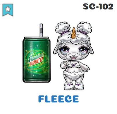 Poopsie Sparkle Critters Fleece