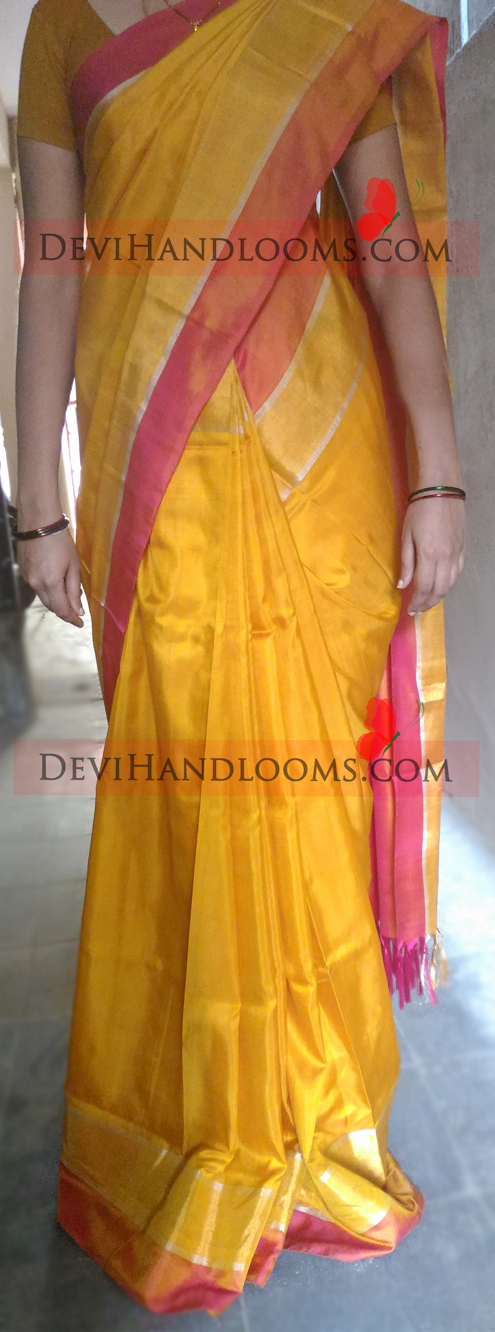 http://devihandlooms.com/shop/product/uppada-yellow-with-zari-and-pink-border-silk-saree/