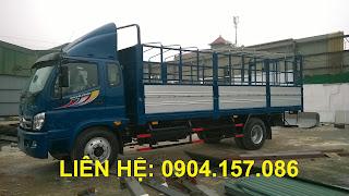Xe tải thaco ollin 9.5 tấn Hải Phòng