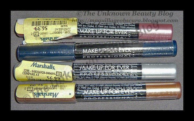 Bargain Buys - Make Up For Ever Aqua Shadow Crayons