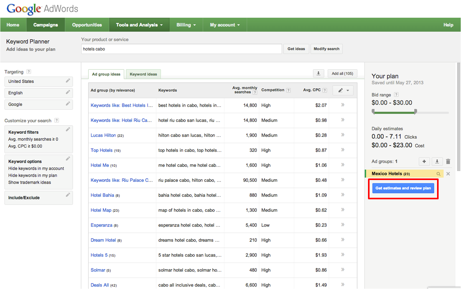 Inside AdWords: Introducing Keyword Planner: Combining The