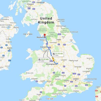 Birmingham-Haysham map
