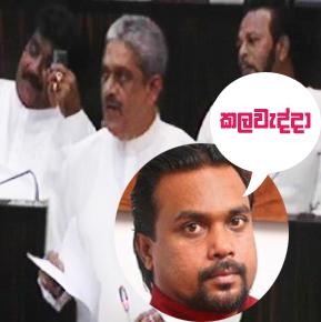 Fonseka nicknamed 'kalawedda' in parliament ...  Fonseka replies 'Viagra bhoothaya'!