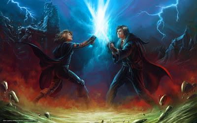 espadas de luz