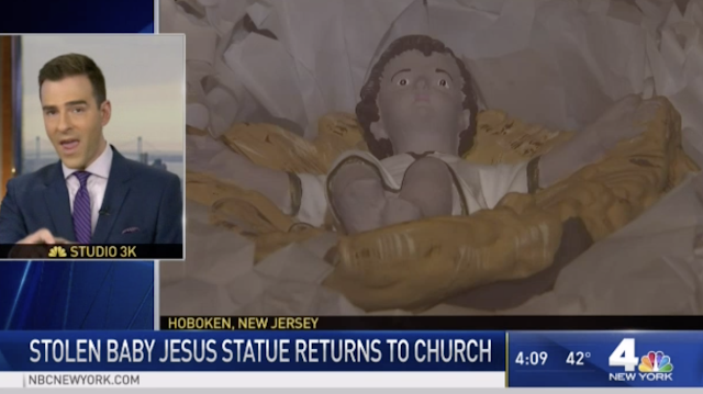 Special Nativity Scene Will Take Center Stage at New Jersey Church After Long-Lost Jesus Statue Returned After 90 Years