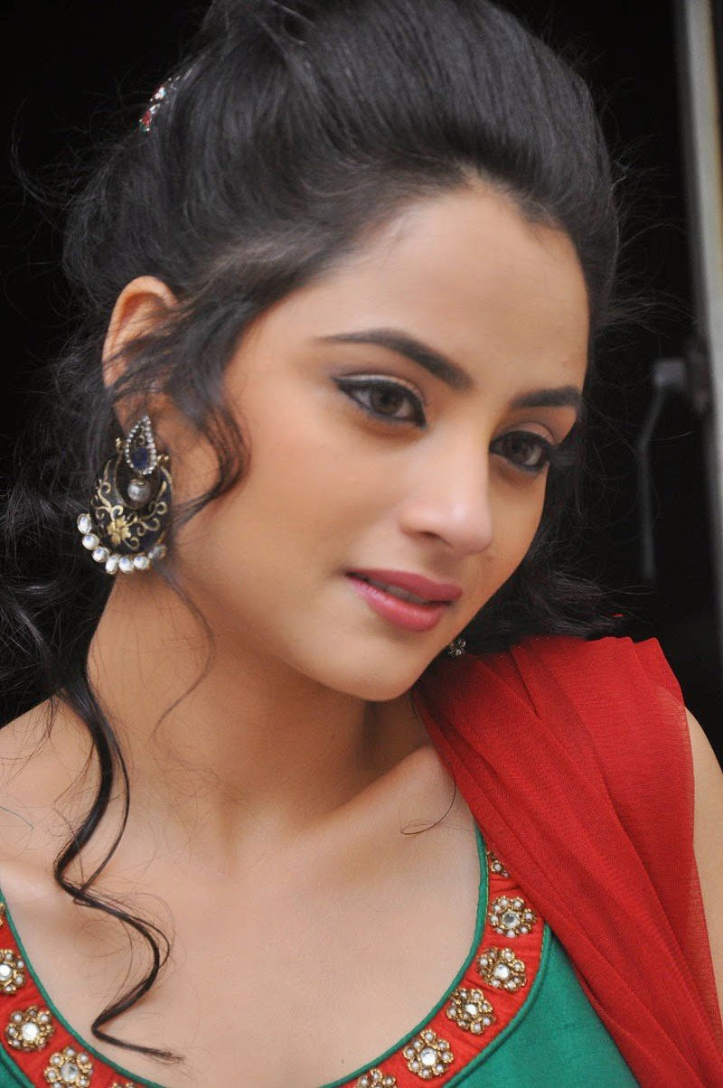 Madirakshi Mundle Hot Photoshoot Stills In Green Dress