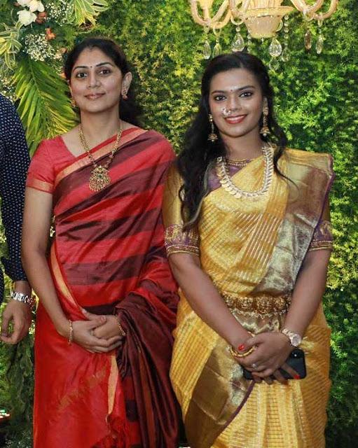 Karthi Wife Ranjani Gold Beads Haram