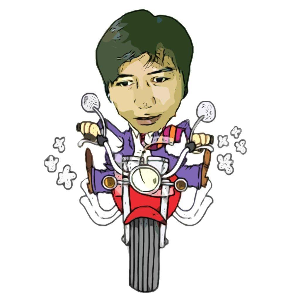 Gambar Kartun Motor Dari Depan Geloragp