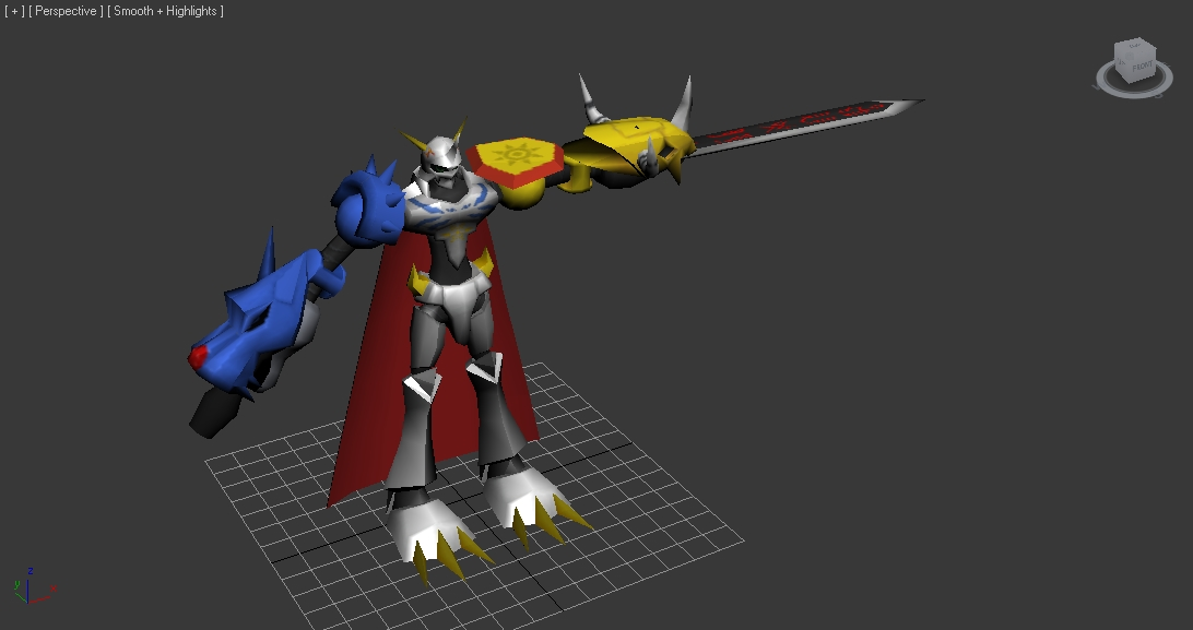 Marcos Papercraft: Omnimon Download